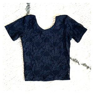 3 for $20! American Apparel Lace Crop Top